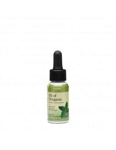 GNC Herbal Plus® Oil of Oregano, Ulei de Oregano Constituentii bioactivi din oregano suprima cresterea unei varietati mari de m