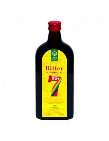 Bitter Romanesc 32+7 500ml Steaua Divina BITTERUL ROMANESC este un extract hidroalcoolic polivalent cu numeroase aplicatii inte