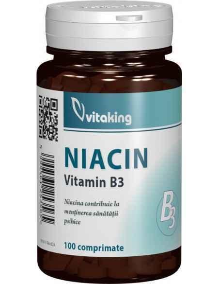 VITAMINA B3 (NIACINA) 100MG 100CPR Vitaking