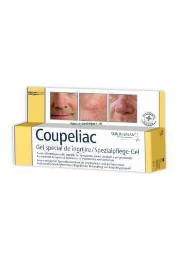 Coupeliac gel 20 ml Pharma Theiss Zdrovit, Coupeliac gel Gelul special de ingrijire Skin in Balance Coupeliac a fost conceput s