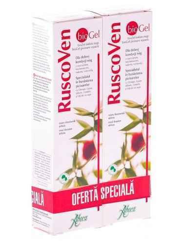RUSCOVEN GEL (BIO) 100ML 1+1-50% GRATIS ABOCA, RUSCOVEN GEL (BIO) 100ML 1+1-50% GRATIS ABOCA RuscoVen bioGel este un preparat