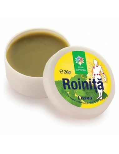 Cremă naturală cu ROINIŢĂ 20 g Steaua Divina Crema naturala de roinita este excelenta pentru mentinerea starii de sanatate a p