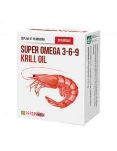 Super Omega 3-6-9 Krill Oil 30 capsule Parafarm