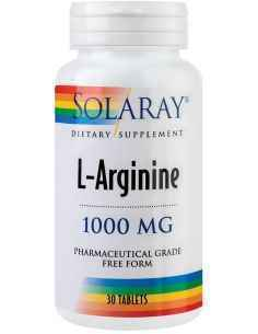 L-Arginine 1000mg 30 tablete Solaray