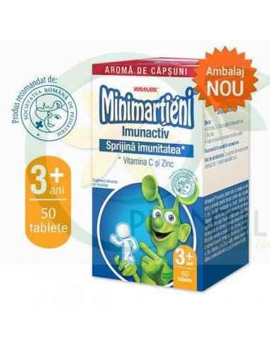 Minimartieni Imunactiv capsuni 50 tablete Walmark, Minimartieni Imunactivcapsuni 50 tablete Walmark Minimarțieni Imunactiv, Vit