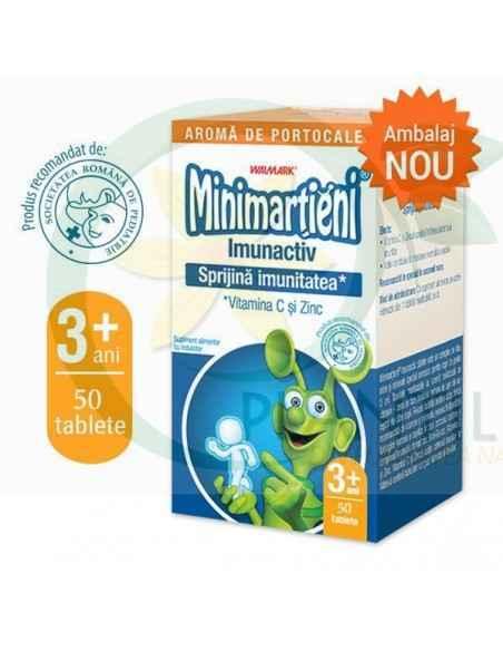 Minimartieni Imunactiv portocale 50 tablete Walmark