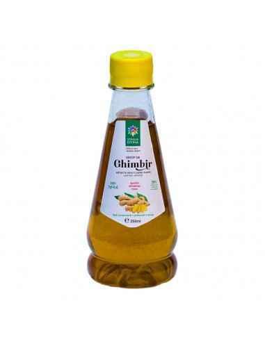Sirop de GHIMBIR250 ml Steaua Divina Ghimbiruleste un excelent tonic, digestiv, afrodiziac si antiinflamator. Are un efect de