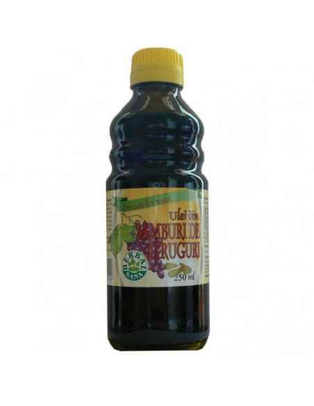 Ulei din Samburi de Struguri presat la rece 250ml Herbavit