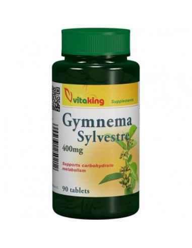 Gymnema Sylvestre 400mg 90cps Vitaking Pentru reglarea glicemiei! Gymnema Sylvestre este cunoscuta in lume ca distrugatorul de z