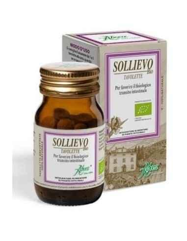Sollievo Bio 45 comprimate Aboca, Sollievo Bio 45 comprimate Aboca Sollievo comprimate este un laxativ 100% natural pe baza de p