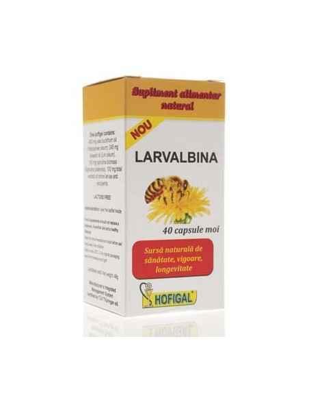 Larvalbina 40 capsule Hofigal