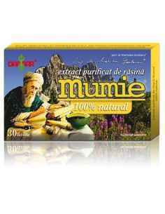 Mumie Extract Purificat de Rasina 30 tablete Damar