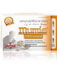Mumie Extract Purificat de Rasina 60 capsule Damar