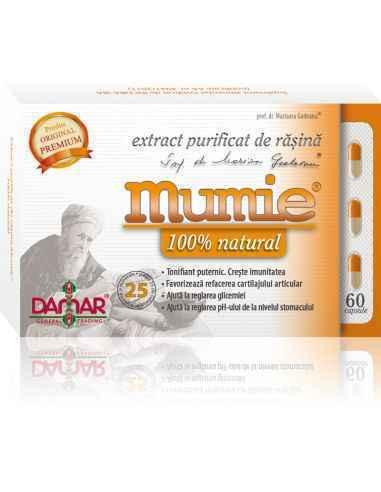 Mumie Extract Purificat de Rasina Rășina Mumie este cunoscuta și utilizată de aproximativ 3000 de ani, în peste 50 de afecțiuni