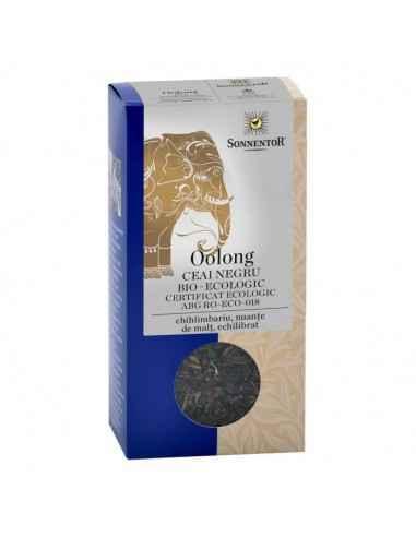 CEAI NEGRU OOLONG HUNAN ECO 40g SONNENTOR Chihlimbariu, nuanțe de malț, echilibrat Oolong Hunan, un ceai semi-fermentat, provin