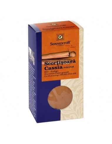 CONDIMENT - SCORTISOARA MACINATA CASSIA ECO 40 gr SONNENTOR  Folosit cu moderație, condimentul cu aromă intensă inspiră numero