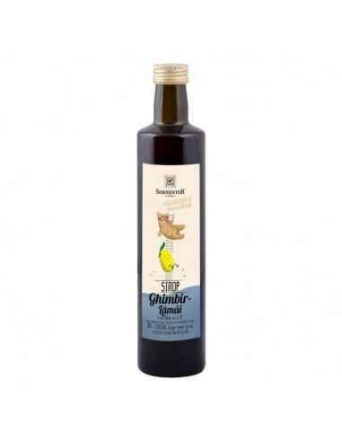 SIROP GHIMBIR SI LAMAIE FARA ZAHAR ECO 500ml (sticla) SONNENTOR Un sirop răcoritor, cu un gust fantastic, combinat cu apă rece,