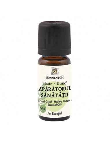 Ulei Esential Bio Toate-s Bune -Aparatorul Sanatatii Sonnentor Amestec aromatic de uleiuri esențiale naturale 100% pure: euca