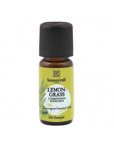 ULEI ESENTIAL LEMONGRASS 10ml SONNENTOR Ulei esential de lemongras obtinut prin distilarea in aburi a plantei.