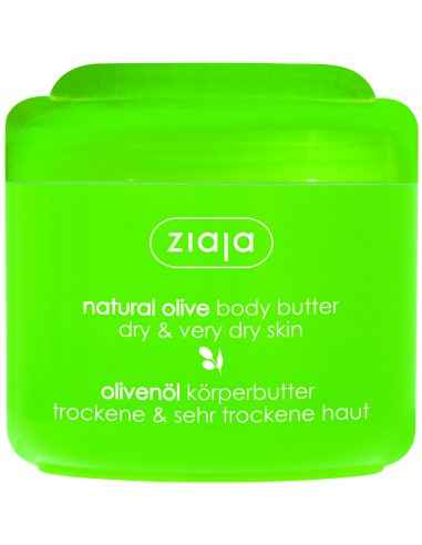 Natural Olive - Unt de corp 200 ml ZIAJA Untul de corp sporeste elasticitatea epidermei si revitalizeaza bariera de protectie n