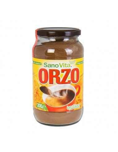 Cafea din Orz 200g Sanovita,Orz borcan 200g Sanovita Orz prăjit pentru o băutură savuroasă și aromată. Din acest produs se