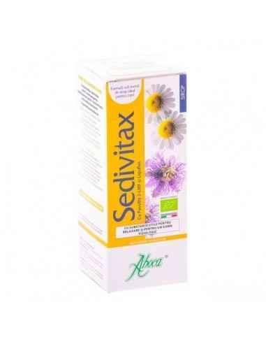 Sedivitax Sirop Bio 220 grame Aboca Sedivitax sirop este un produs 100% natural, conceput cu extracte liofilizate, fructul cerce