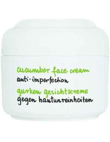 Cucumber - Crema pentru ten gras/mixt 50 ml ZIAJA Oferă hidratare intensă și calmează iritațiile pielii.