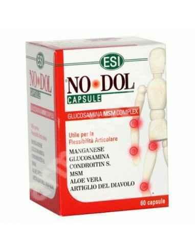 No Dol 60 capsule Esi Spa  Produsul poate fi recomandat in cazul durerilor articulare, ranilor cartilajelor, in dureri si rigidi