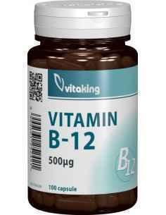Vitamina B12 500mcg 100 cpr (Cianocobalamina) - Vitaking