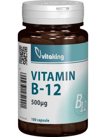 Vitamina B12 500mcg 100 cps Vitaking
