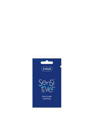 Sensitive - Masca cu efect calmant pentru ten sensibil 7 ml ZIAJA Mască de față elimină roșeața și senzația de arsură a epiderm