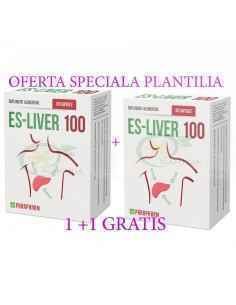 Es-Liver 100 30 + 30 capsule GRATIS Parafarm