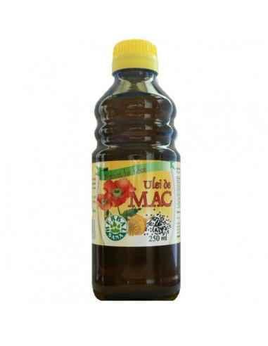 Ulei mac presat la rece (Uz intern) 250 ml Herbavit, Ulei mac presat la rece (Uz intern) 250 ml Herbavit Este foarte bogat în ac