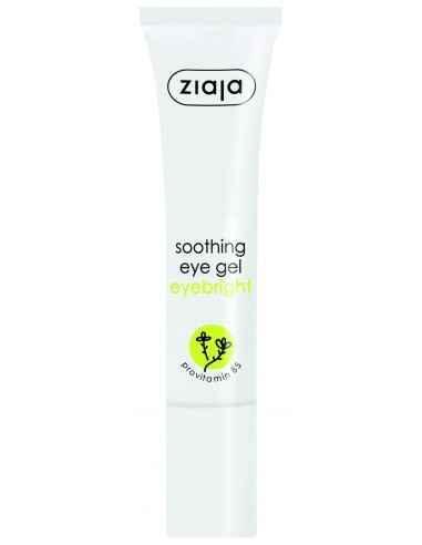Gel contur ochi calmant cu extract de eyebright 15 ml ZIAJA Gel de ochi, recomandat pentru îngrijirea zilnică a zonei ochilor.
