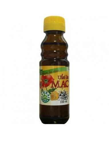 Ulei mac presat la rece (Uz intern) 100 ml Herbavit, Ulei mac presat la rece (Uz intern) 100 ml Herbavit Este foarte bogat în ac