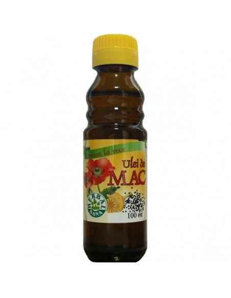 Ulei mac presat la rece (Uz intern) 100 ml Herbavit