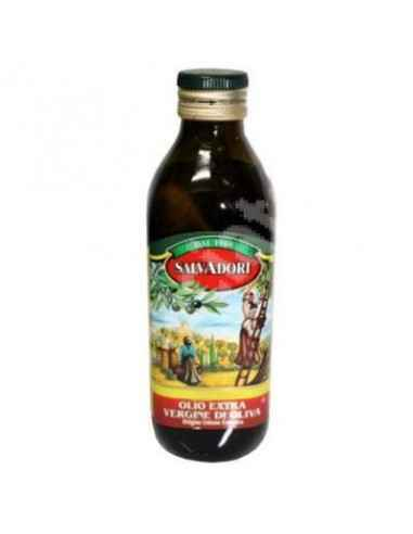 Ulei de Masline Extravirgin 250 ml Salvadori Uleiul de masline extra-virgin. Provine din prima presare a maslinelor. Are o acidi