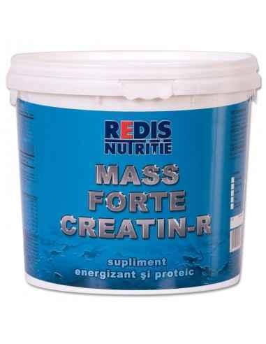 Mass Forte Creatin-R galeata 2,5 kg aroma ciocolata Redis, Mass Forte Creatin-Rgaleata 2,5 kg aroma ciocolata Redis Mass Forte