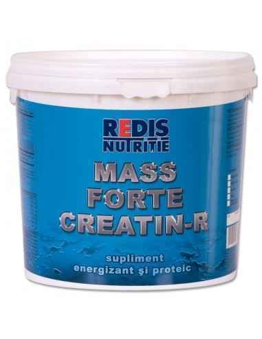 Mass Forte Creatin-R galeata 2,5 kg aroma vanilie Redis, Mass Forte Creatin-R galeata 2,5 kg aroma vanilie Redis Mass Forte Crea