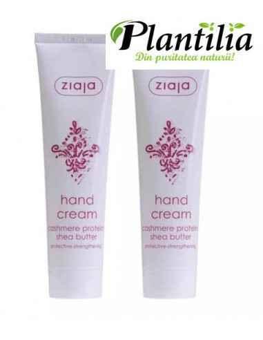 Oferta Cashmere - Crema pentru maini, 1+1 ZIAJA Hidratează mâinile după spălarea frecventă. Calmează pielea uscată.