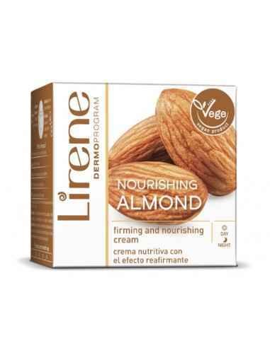 CREMA NUTRITIVA ZI&NOAPTE MIGDALE 30+ 50ml Lirene Crema de fata nutritiva, cu migdale, pentru efect de fermitate - a fost creat