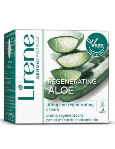 CREMA REGENERATOARE ZI&NOAPTE ALOE 40+ 50ml Lirene Crema de fata regeneratoare cu efect de lifting cu extract de aloe vera a fo