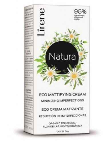 CREMA ZI MATIFIANTA EXTRACT FLOARE COLT 50ml Lirene Crema de zi matifianta cu extract de floare de colt contine 95% ingrediente