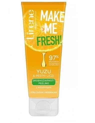 SCRUB FACIAL YUZU&LITCHI 75ml Lirene Scrubul facial cu particule fine si vitamine din Yuzu si seminte de Litchi este destinat p