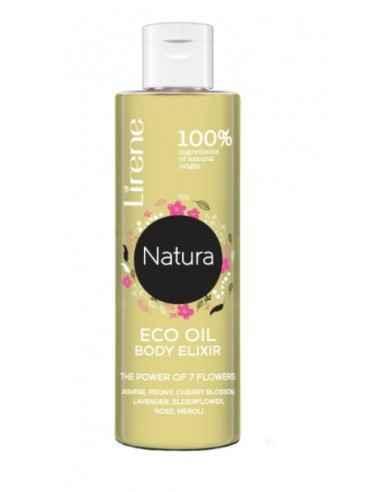 ULEI ELIXIR NATURAL CORP 100ml Lirene Uleiul elixir pentru corp, 100% natural combina puterea celor 7 flori: iasomie, bujor, fl