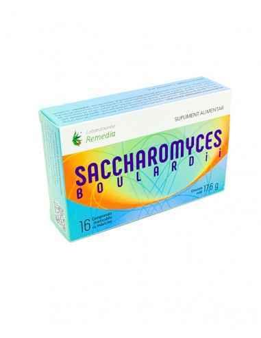 SACCHAROMYCES BOULARDII 16CPR MASTICABILE Remedia SACCHAROMYCES CEREVISIAE VAR. BOULARDII reprezintă o sursă importantă de sup