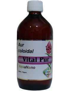 Aur Coloidal Vital Pur 10 ppm 500ml Aghoras