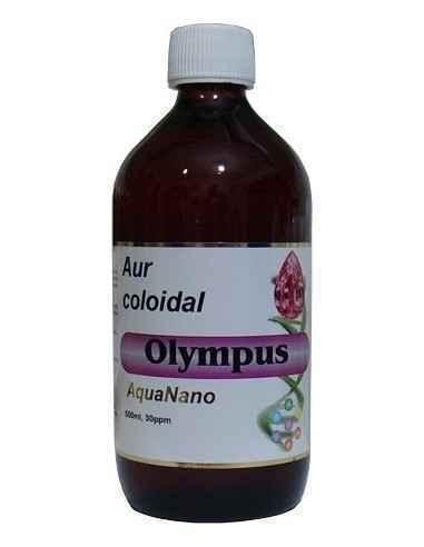 Aur Coloidal Olympus 30 ppm 500ml Aghoras În unele sisteme medicale tradiționale, se consideră că aurul este extrem de util pent