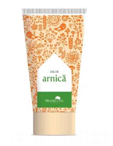 Gel Arnica 150 ml Transvital Gelulcu extract de Arnica , face ca tratamentul antiseptic, antiinflamator si antireumatic sa va