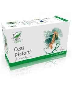 Ceai Diafort 20 doze + 5 doze cadou Pro Natura